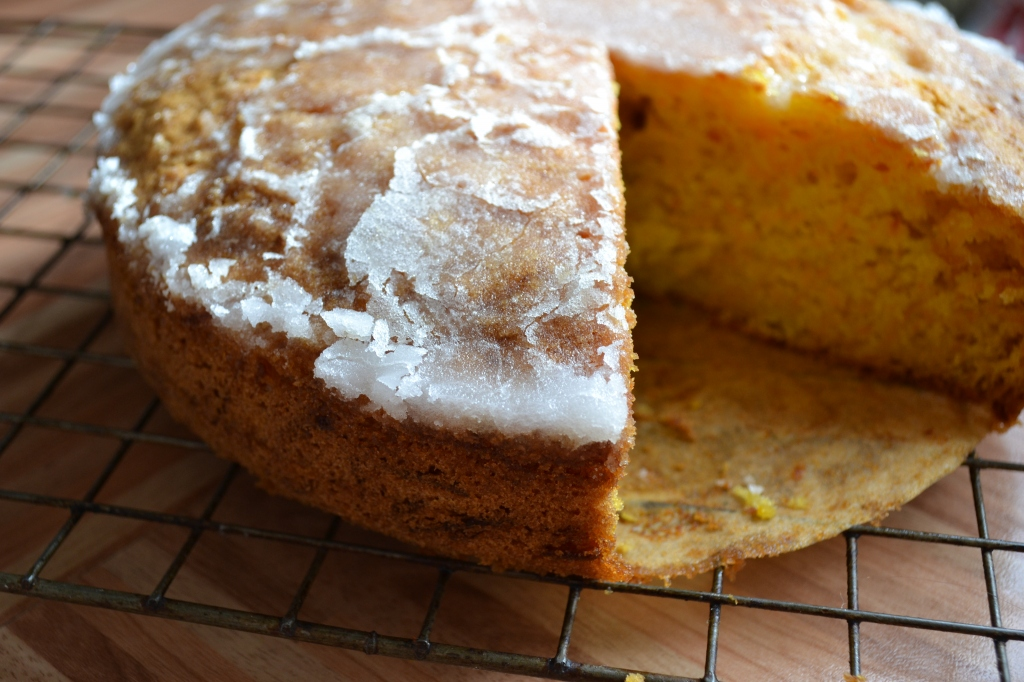 Pumpkin, cardamom and orange cake