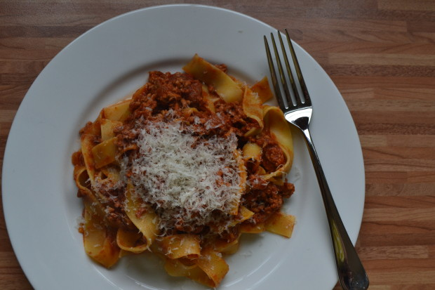 Pork and fennel ragu