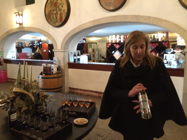 Tasting at Jose Maria da Fonseca