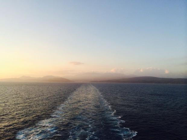 On board Ventura