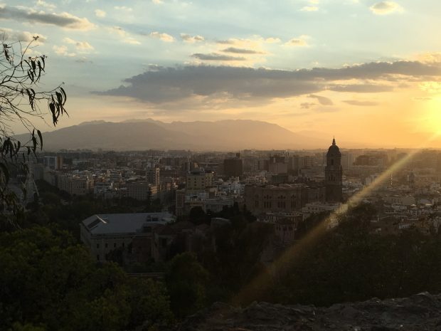 Sunset from the mirador