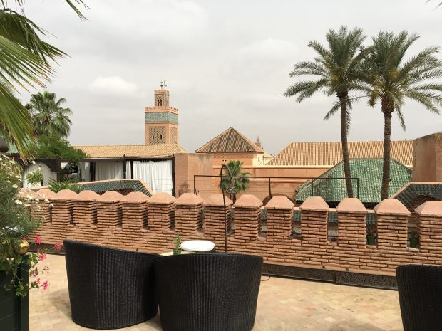 La Sultana roof terrace