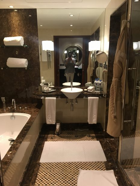 Bathrooms at Grosvenor House