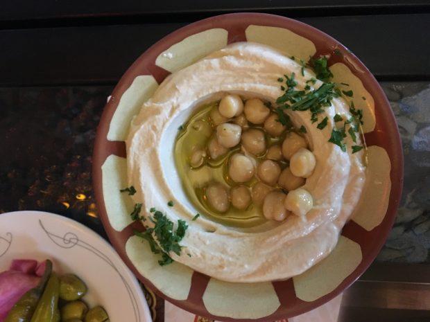 Hummus at Qwaider al Nabulsi