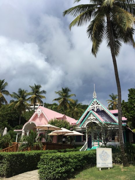 Downtown Mustique - the island's shops